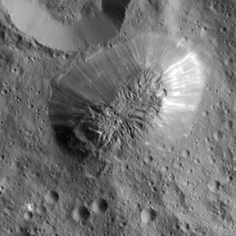 Ahuna Mons, NASA