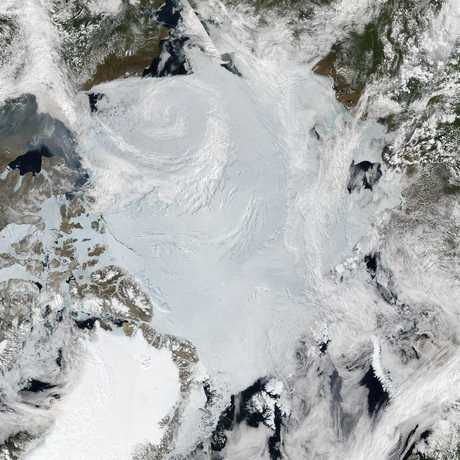 The Arctic, NASA Earth Observatory
