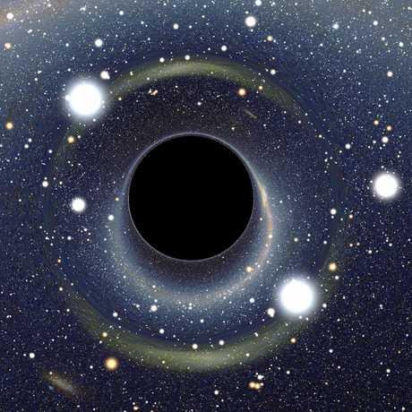 black hole by Alain r