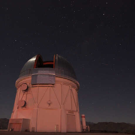 The Blanco Telescope in Chile