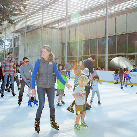 Tis the season for Ice skating at the Academy