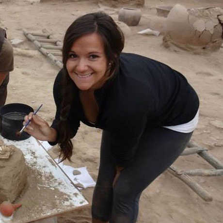 Anthropology Curatorial Assistant Cheryl Tripathi