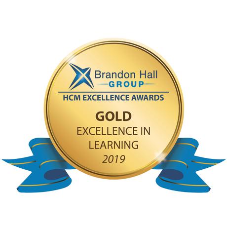 Brandon Hall Group Gold Award logo