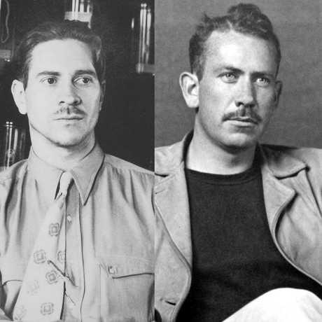"""Ed """"Doc"""" Ricketts and John Steinbeck"""