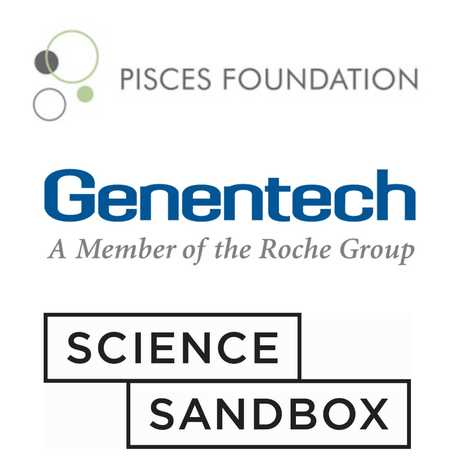 Pisces Foundation, Genentech, and the Simons Foundation all sponsor Science Action Club.
