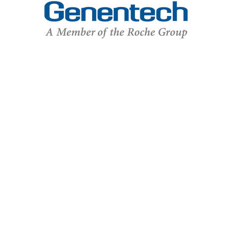 Genentech logo.