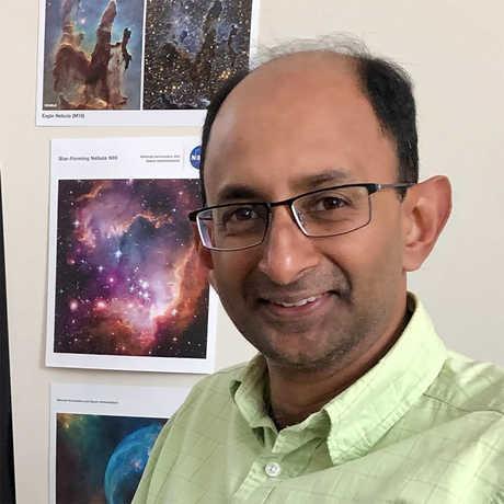 Cornell astronomer Shami Chatterjee