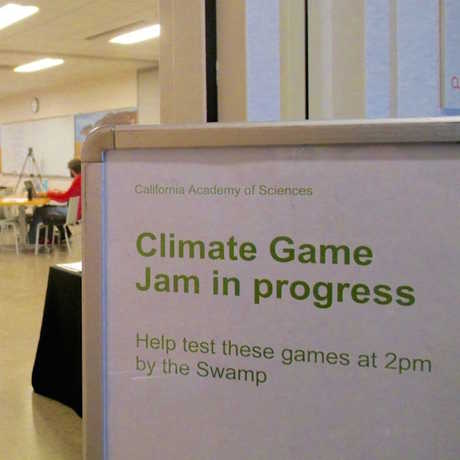 Climate Game Jam In Progress