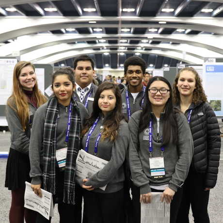 CiS Interns Poster Session at AGU 2015