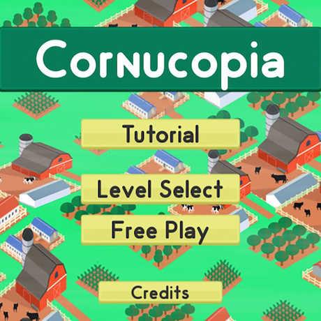 cornucopia start screen