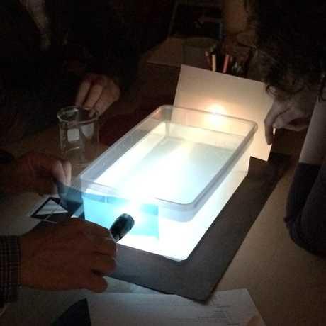Art + Science Light in Water
