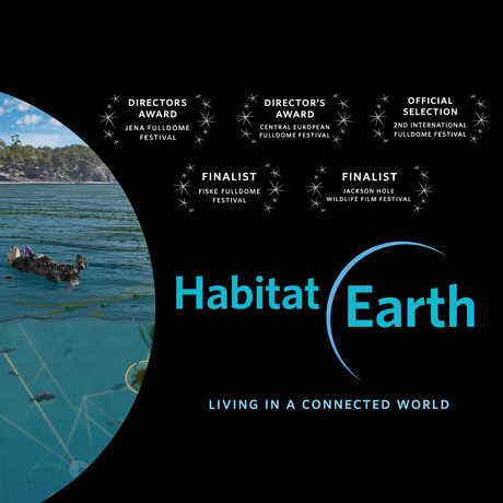 Habitat Earth Poster