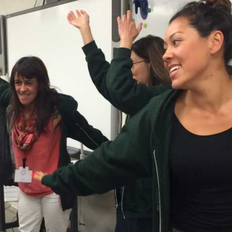 teachers having fun