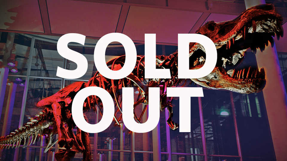 sold out banner