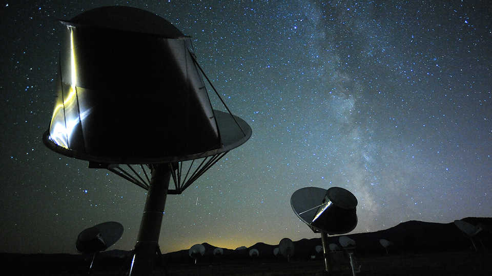 The alien-hunting Allen Telescope Array in Northern California
