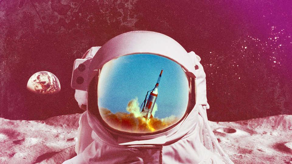 Retro Astronaut