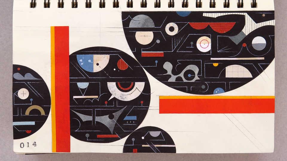 LV Sketchbook 014 (Event Horizon Telescope)
