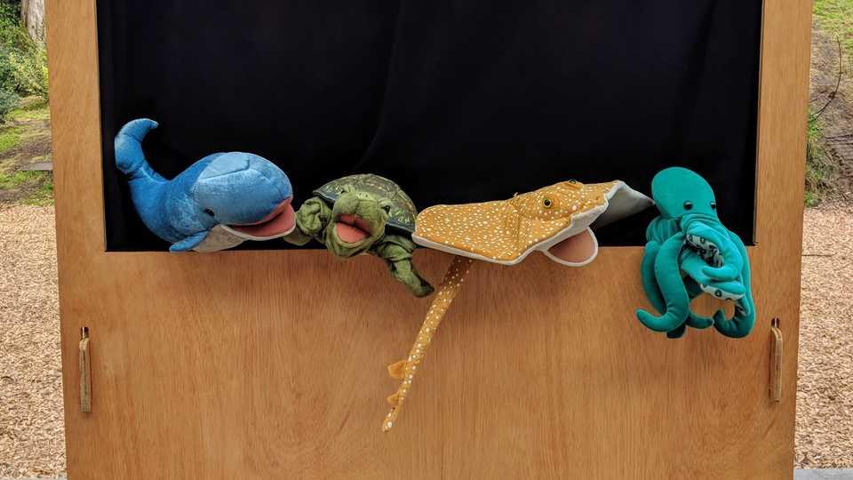 Ocean Puppets!