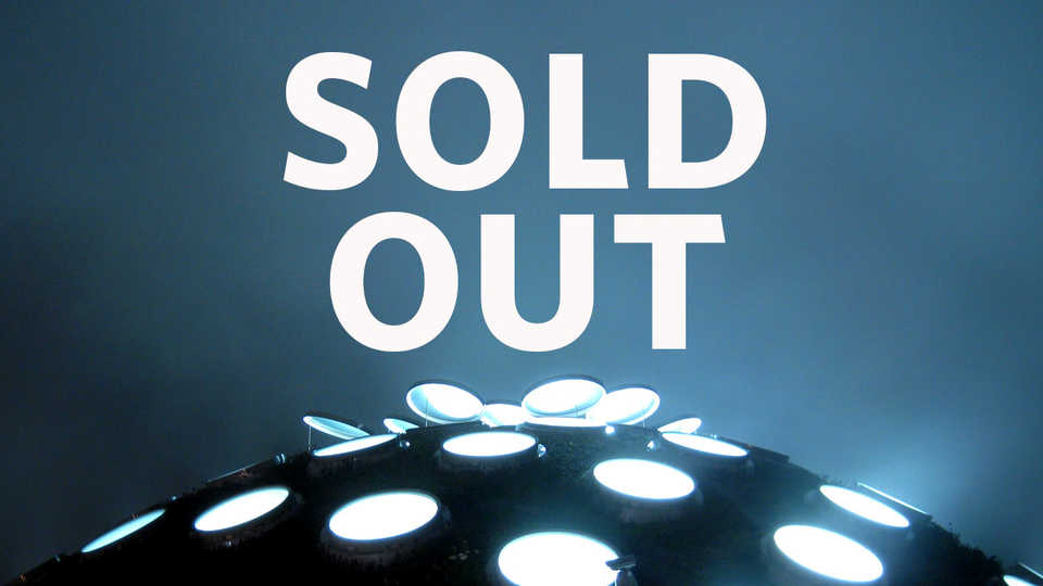 sold out message