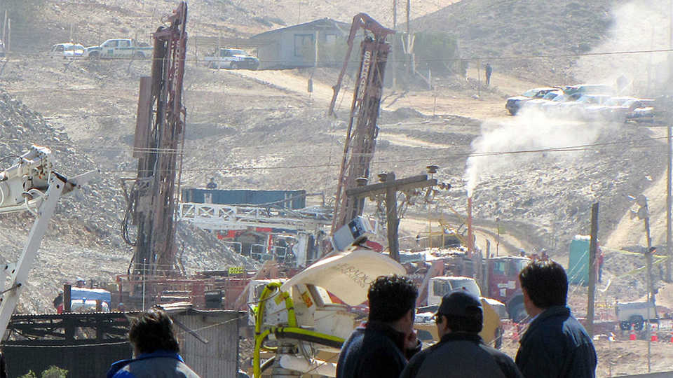 Mine rescue in Chile