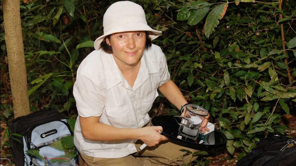 Shannon Bennett on expedition