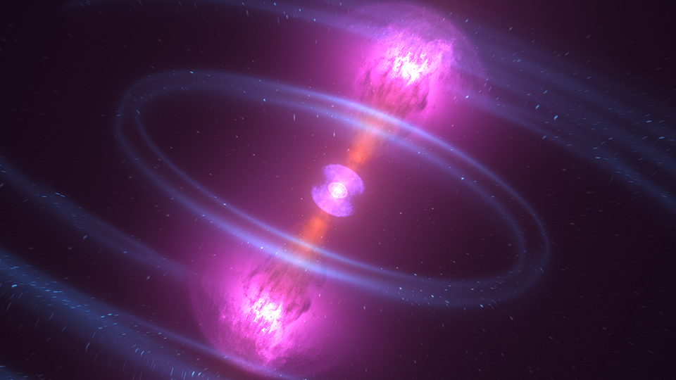 What happens when neutron stars collide?