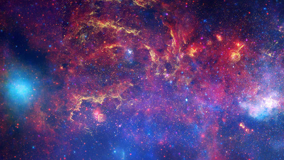 Milky Way in infrared