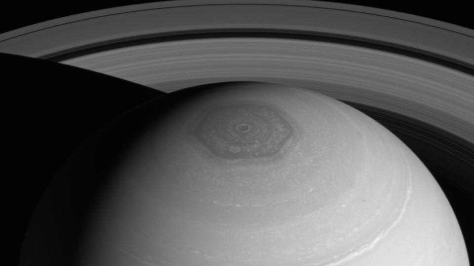 Saturn's Northern Polar Hexagon