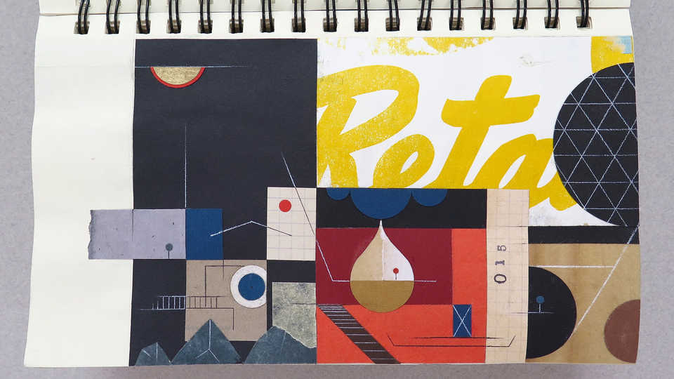 LV Sketchbook Page 015 (Palmer Station)