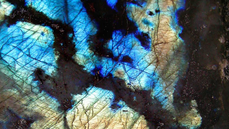 Labradorite, by Prokofiev/Wikipedia