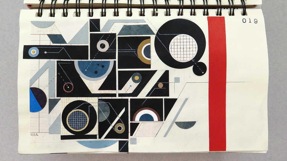 LV Sketchbook Page 019 (Space Dust)