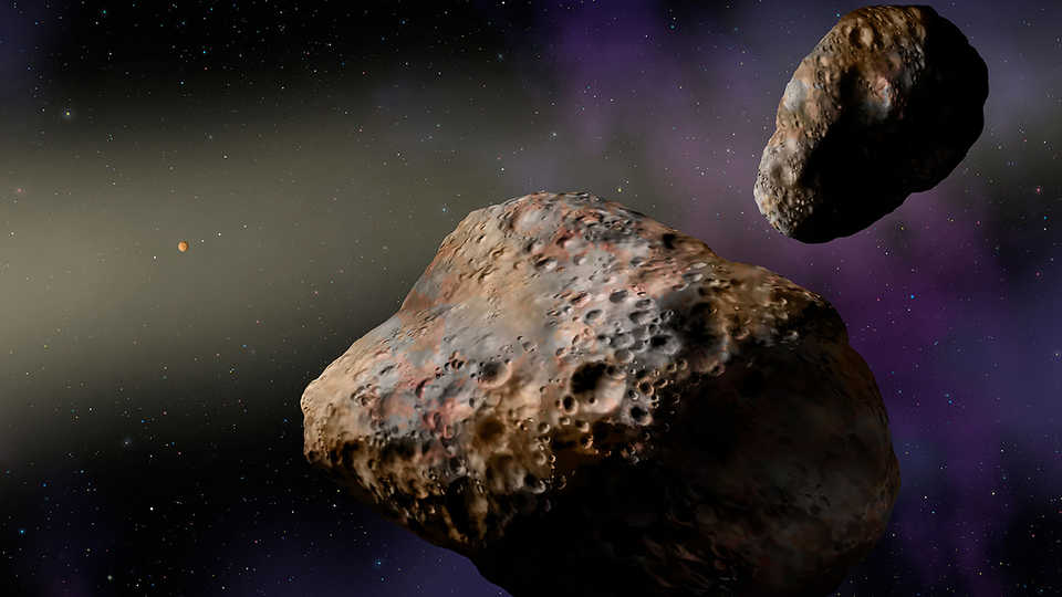Tiny Moons Around Asteroids
