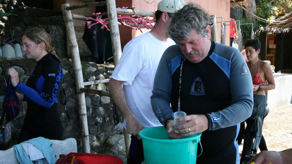 Dr. Terry Gosliner in the field
