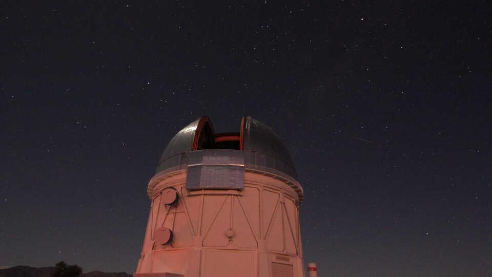 The Blanco Telescope in Chile