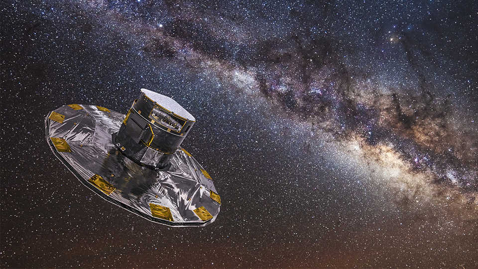 Data from the Gaia spacecraft have helped to create a 3D map of our galaxy!
