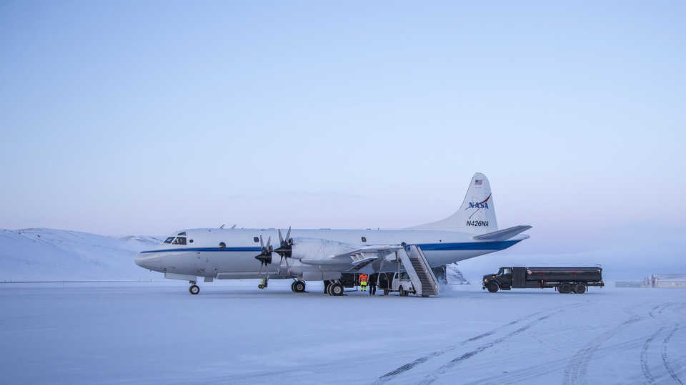 Long View Study No. 33 (Operation IceBridge)