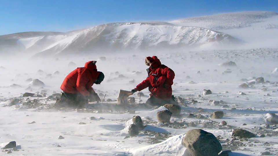 Long View Study No. 34 (Ice Coring II)