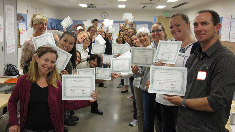 Pioneers in NGSS Training | California Academy of Sciences